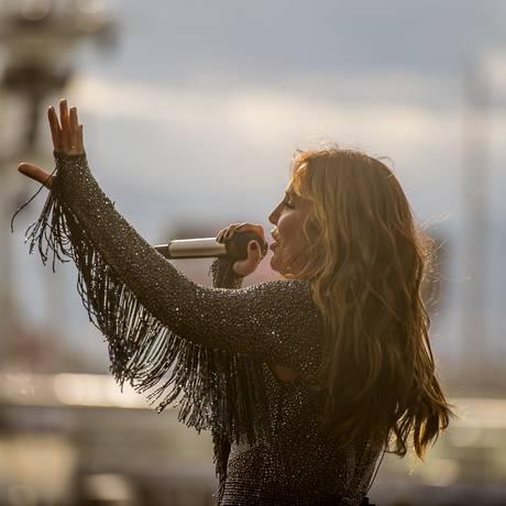 Ivete Sangalo se apresenta no Rock in Rio USA Foto: Divulgação