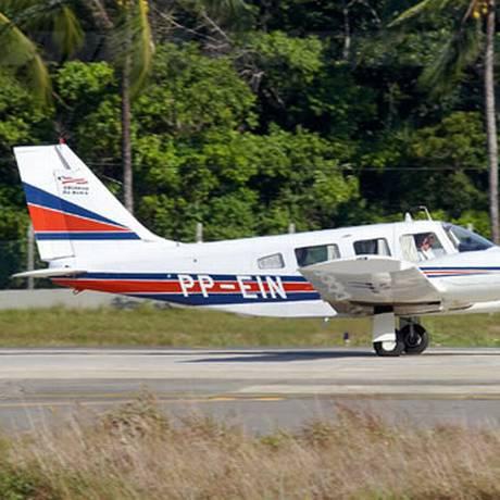 Modelo similar ao do avião adquirido pelo PROS no fim de 2014 Foto: Reprodução/Governo da Bahia