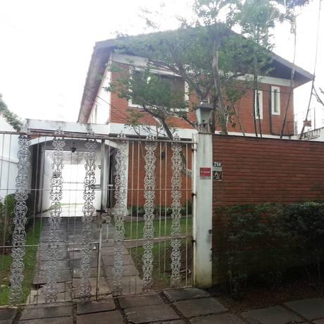 A casa de 594 metros quadrados no Alto de Pinheiros, bairro de alto padrão, que é sede do PSDC e foi da Grunase: aluguel pago pela sigla Foto: Sérgio Roxo/ Agência O Globo