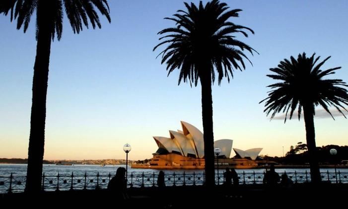 Sydney Harbour, na Austrália Foto: JEREMY PIPER/23-6-2009/BLOOMBERG NEWS