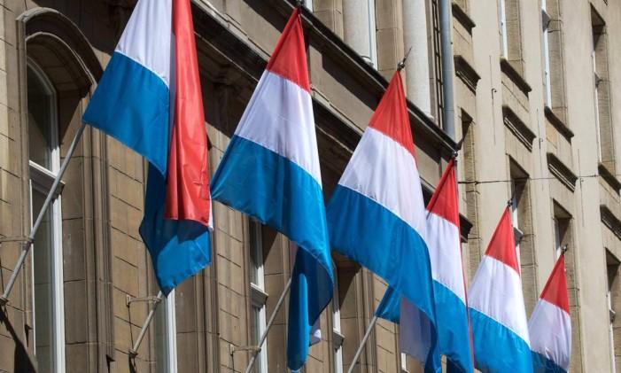 Bandeiras de Luxemburgo Foto: Wolfgang von Brauchitsch/17-6-2009 / BLOOMBERG NEWS