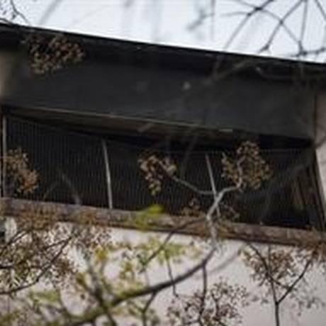 Incêndio começou no terceiro andar da clínica geriátrica San Marcos, em Buenos Aires Foto: La Nación/GDA