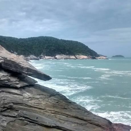 Orla entre as praias de Caravelas e de José Gonçalves Foto: Divulgação/Leonardo Sandre
