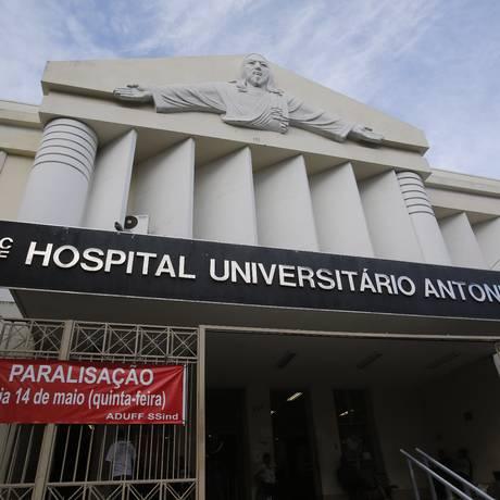 Fachada do Hospital Universitário Antonio Pedro, em Niterói Foto: Felipe Hanower / Agência O Globo