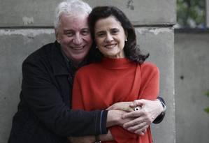 Marieta Severo ao lado de Marco Nanini Foto: Rafael Moraes / Agência O Globo