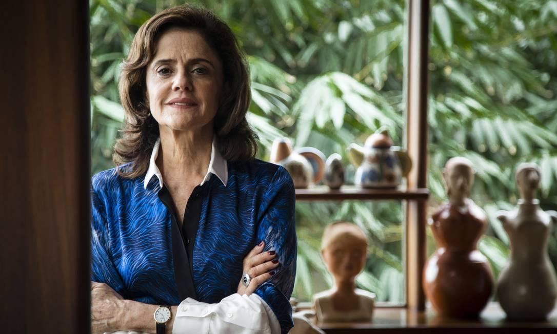 A atriz Marieta Severo Foto: Fernando Lemos / Agência O Globo