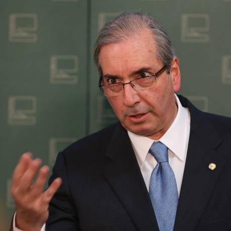 Cunha defende que comissão não vote relatório da reforma política na terça-feira Foto: Ailton de Freitas / Agência O Globo