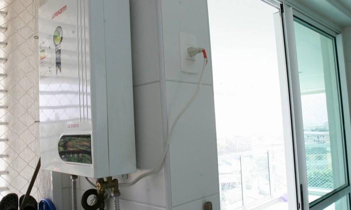 Aquecedor deve ter ventilação permanente Foto: Marcelo Piu / Agência O Globo (06/05/2010)