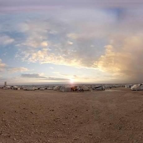 Curta 'Nuvens sobre Sidra' foi desenvolvido com tecnologia usada em videogames Foto: Divulgação