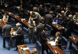 Plenário do Senado Federal Foto: Givaldo Barbosa / Agência O Globo (06/05/2015)