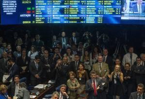 Senado aprova indicação de Luiz Fachin para o STF Foto: André Coelho / Agência O Globo