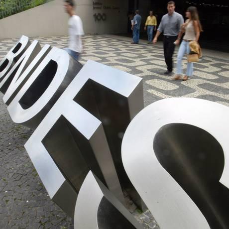 BNDES. Banco recebeu mais de R$ 400 bilhões em aportes desde 2008 Foto: Márcia Foletto / Agência O Globo/11-3-2004