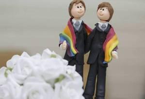 60% dos americanos apoiam o casamento gay Foto: Arquivo