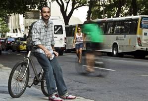 Raphael Pazos: Morte de ciclista foi tragédia anunciada Foto: Guilherme Leporace em 19/02/2015 / Agência O Globo