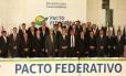 Senado reúne governadores para discutir o pacto federativo