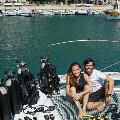 Sarah e Renato no Ipanema Foto: Divulgação/Sail Ipanema