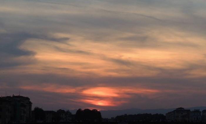Pôr do sol na Toscana por @higordrums Foto: @higordrums / Instagram