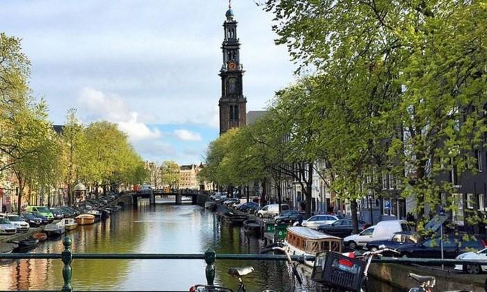 Os canais de Amsterdam por @thiago.lopez Foto: @thiago.lopez / Instagram