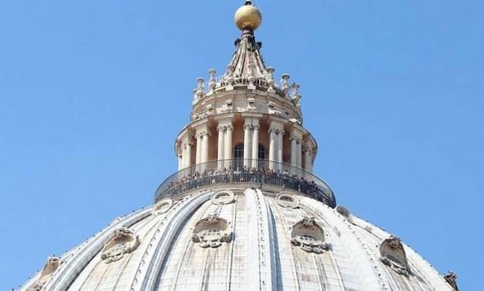 Basílica de São Pedro por @thiago.lopez Foto: @thiago.lopez / Instagram
