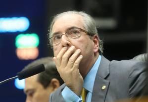 O presidente da Câmara Eduardo Cunha (PMDB-RJ) Foto: Andre Coelho / Agência O Globo