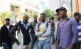 Haitianos vindos do Acre, chegam a São Paulo em busca de emprego