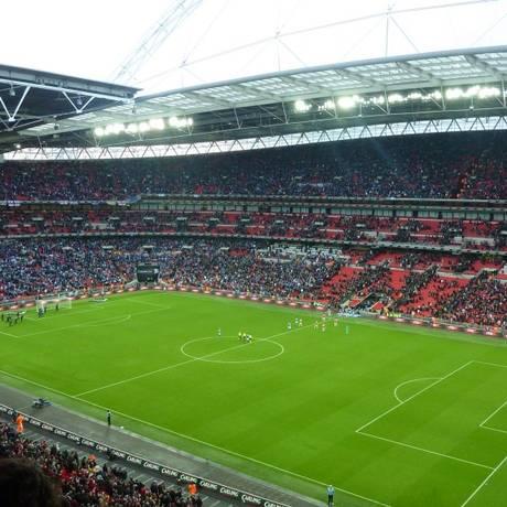 Estádio de Wembley lotado Foto: Reuters