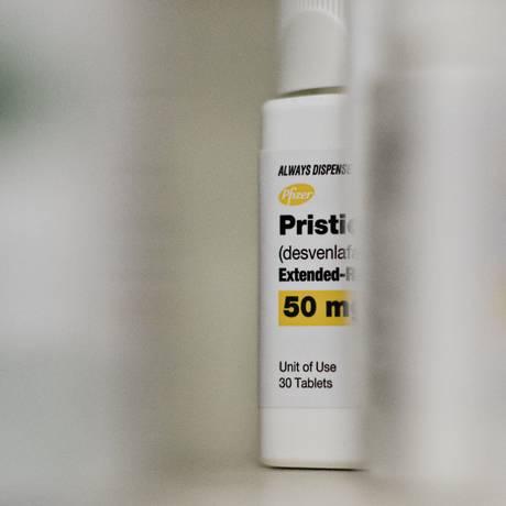 Antidepressivo Pristiq Foto: Daniel Acker/27-4-2015 / Bloomberg News