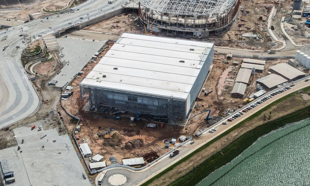 A Arena do Futuro receberá os jogos de handebol nas Olimpíadas Renato Sette Camara / Prefeitura do Rio