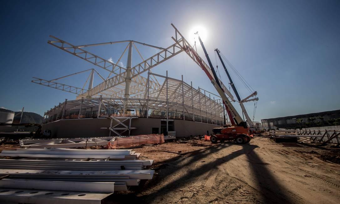 O Estádio Aquático receberá provas de natação, polo aquático e natação paralímpica Foto: Renato Sette Camara / Prefeitura do Rio