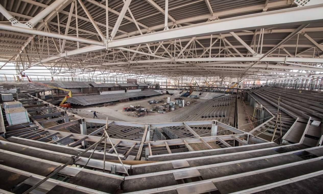 A Arena Carioca 3 receberá provas de esgrima, taekwondo e judô paralímpico Foto: Renato Sette Camara / Prefeitura do Rio