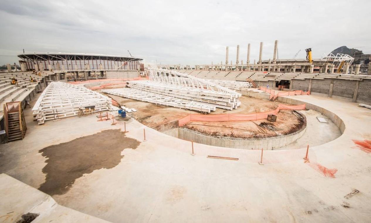 O Velódromo receberá as provas de ciclismo de pista e paraciclismo de pista Foto: Renato Sette Camara / Prefeitura do Rio