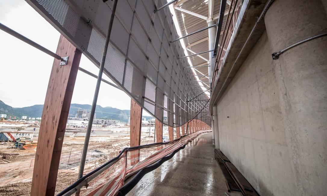 A Arena Carioca 2 tem capacidade para 10 mil pessoas Foto: Renato Sette Camara / Prefeitura do Rio