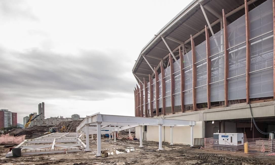 Obras na Arena Carioca 3, palco de esgrima, taekwondo e judô paralímpico Renato Sette Camara / Prefeitura do Rio