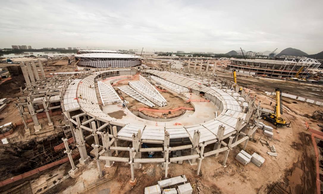 O Velódromo terá capacidade para cinco mil pessoas Renato Sette Camara / Prefeitura do Rio