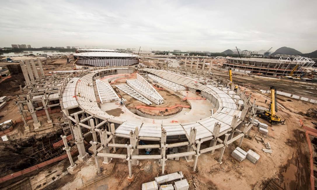 O Velódromo terá capacidade para cinco mil pessoas Foto: Renato Sette Camara / Prefeitura do Rio