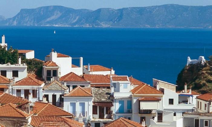 Ilha de Skiathos, na Grécia Foto: Y Skoulas/Visit Greece / Divulgação