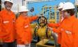Gasene. Gabrielli, Lula, Dilma e Jacques Wagner inauguram gasoduto na BA