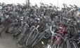 Bicicletas em depósito da 14ª DP (Leblon): demanda crescente estimula o roubo