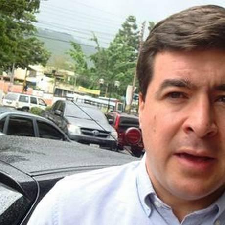 Daniel Ceballos, ex-prefeito preso há 14 meses Foto: Eleonora Delgado Burguera / El Nacional