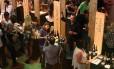 O Mercado de Vinhos ficou lotado durante o sábado