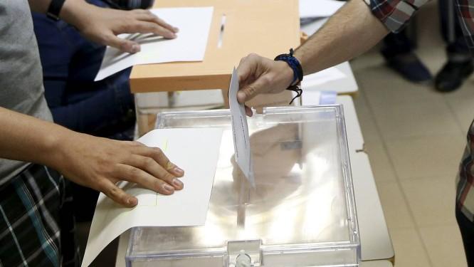 O voto de Iglesias Foto: ANDREA COMAS / REUTERS