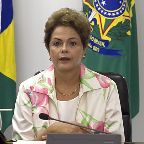 Presidente Dilma Rousseff Foto: Jorge William / Agência O Globo