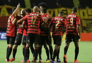 Sport é líder do Brasileirão: duas vitórias e um empate em três jogos Foto: Carlos Ezequiel Vannoni / Divulgação