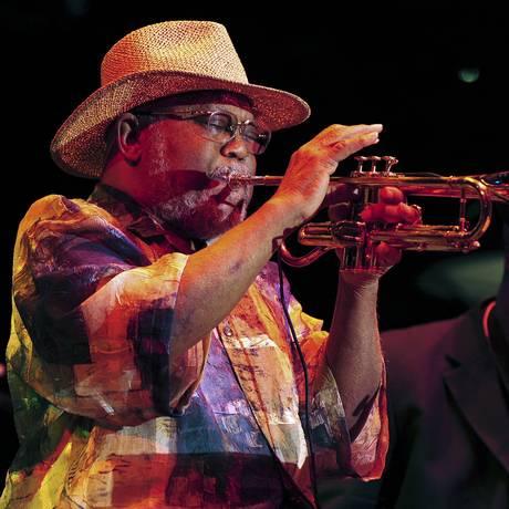 Belgrave se apresentando no Detroit Jazz Festival, em 2012 Foto: Ricardo Thomas / AP