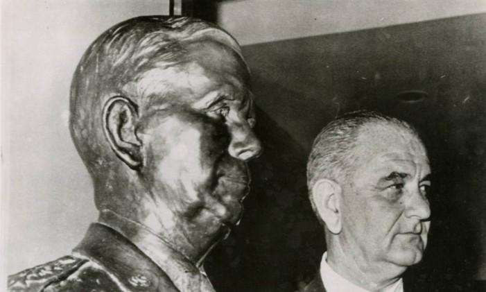 03/06/1964 - Lyndon Johnson, Presidente dos Estados Unidos Foto: Agência O Globo