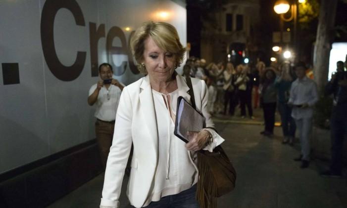 Aguirre reconheceu turbulência vivida pelo PP Foto: DANI POZO / AFP
