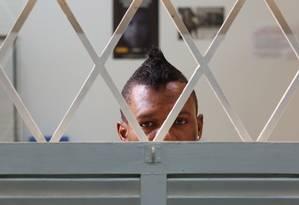 O camaronês Oscar foi preso devido a sua orientação sexual Foto: Marcos Alves