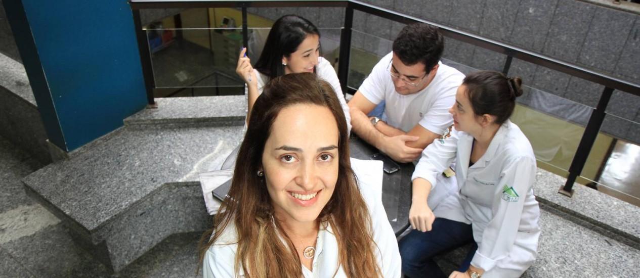Campeã. Tese de Ana Cristina Barcelos, da UFTM, é a mais buscada. Bom uso de palavras-chave pode explicar tamanha popularidade Foto: L.ADOLFO/UFTM