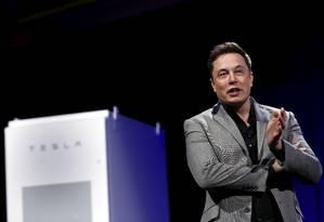 Cofundador da Tesla Motors, PayPal e SpaceX, Elon Musk abriu escola para os próprios filhos Foto: PATRICK T. FALLON / REUTERS