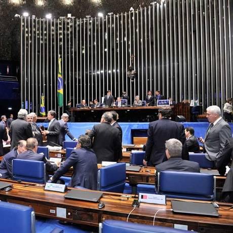 Plenário do Senado Federal Foto: Agência Senado / Waldemir Barreto
